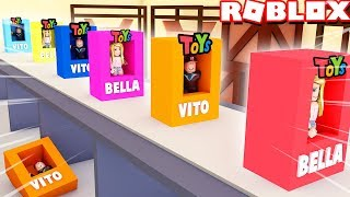 WE HAVE EXPANDED OUR TOY FACTORY IN ROBLOX | Vito and Bella
