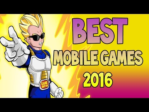 TOP 3 iOS & Android Games of 2016 - BEST MOBILES GAMES 2016