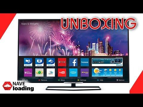 Unboxing - Smart TV LED 32