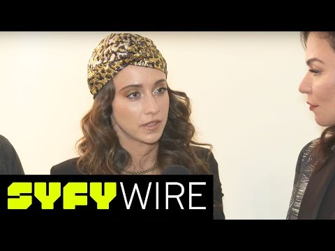 Magicians Stella Maeve on Julia's Struggle with Sexual Assault  New York ComicCon 2017  SYFY WIRE