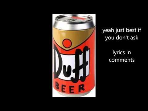 the beer song + lyrics