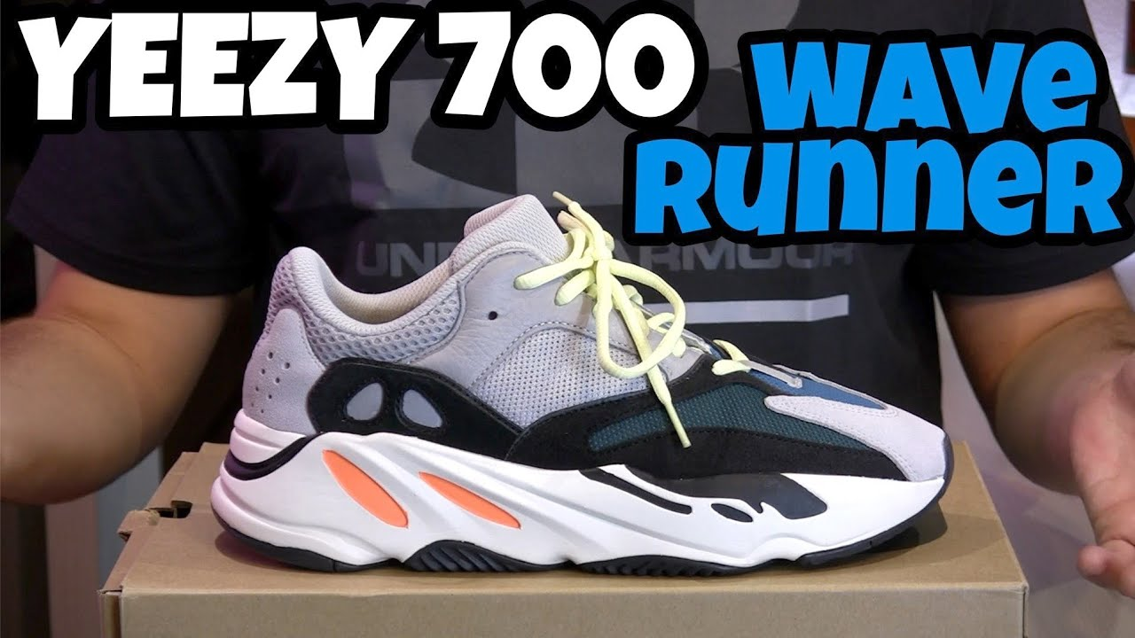 premium selection 11bf8 3888e ADIDAS YEEZY BOOST 700 WAVE RUNNER Unboxing Recensione On Feet Review ITA