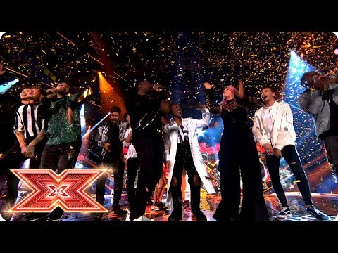 Rak-Su perform their winning song with Wyclef Jean and Naughty Boy!   Final   The X Factor 2017