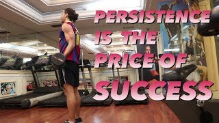 PERSISTENCE IS THE PRICE OF SUCCESS - WEEK 19 COMPLETED | SAIF