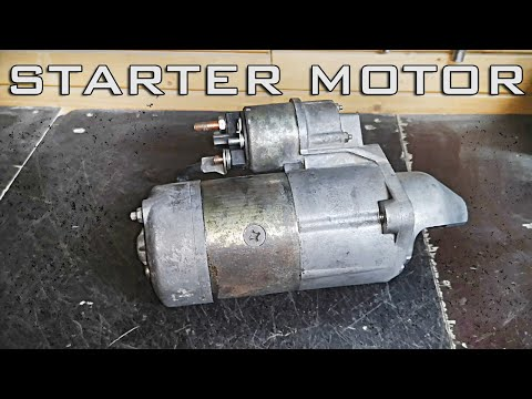 How to make old Starter Motor Work like New. How to fix, rebuild and clean starter motor.