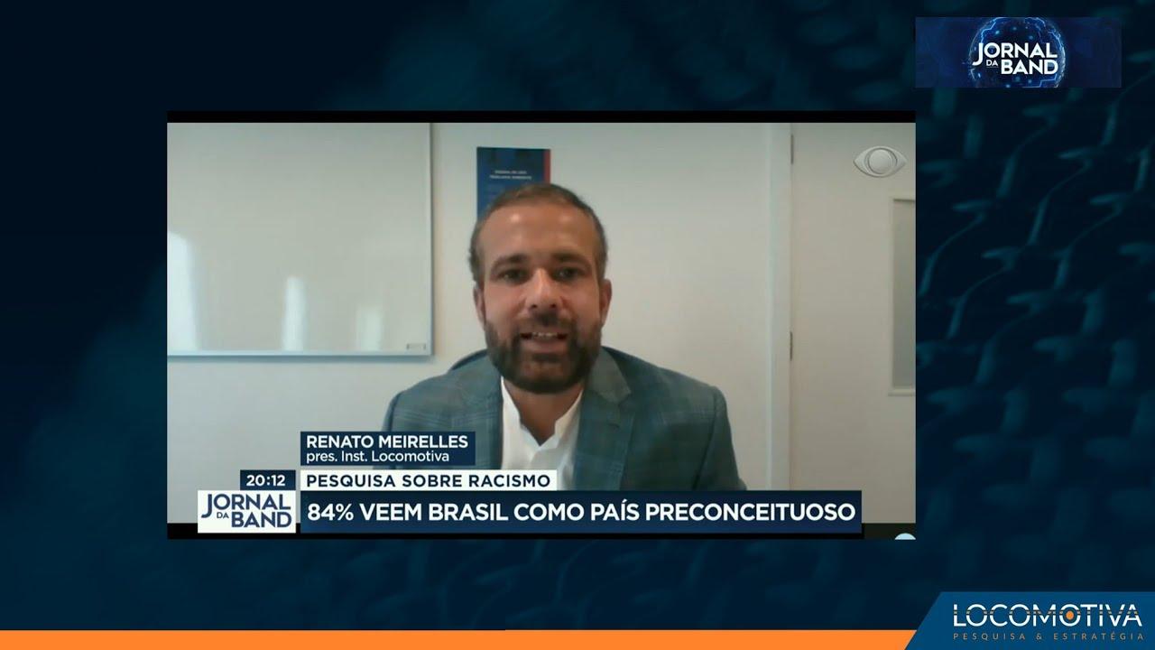 JORNAL DA BAND: 84% veem Brasil como país preconceituoso, mostra pesquisa