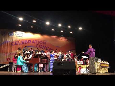 Ma Ma Moe (2018 Myanmar Music Festival Celebration Concert)
