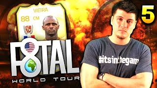 F8TAL WORLD TOUR #5!! FINAL UPGRADES & THE ONE MAN COUNTER ATTACK!!  FIFA 15 ULTIMATE TEAM