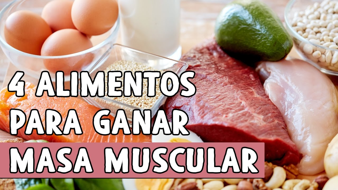 calorias y proteinas para aumentar masa muscular