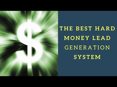 Hard Money Leads Generation – Close More Loans