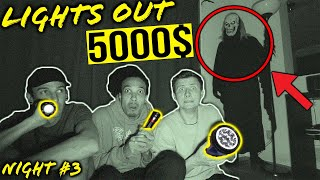 LAST PERSON TO TURN ON THE LIGHTS WINS 5000$ CASH!! *WE'RE NOT ALONE*