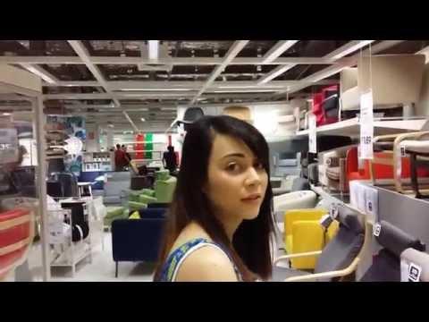 Husband annoys wife at Ikea... thanks for the inspiration Simon & Dana!