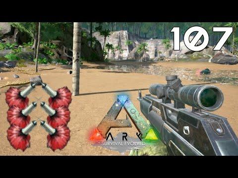 ARK Survival Evolved [#107] Fabricated Sniper Rifle I Tranquilizer Dart
