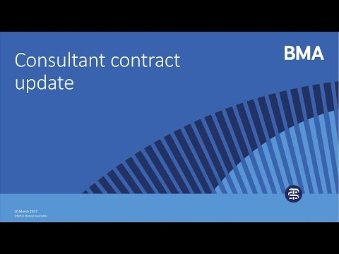 Consultant contract update - March 2017