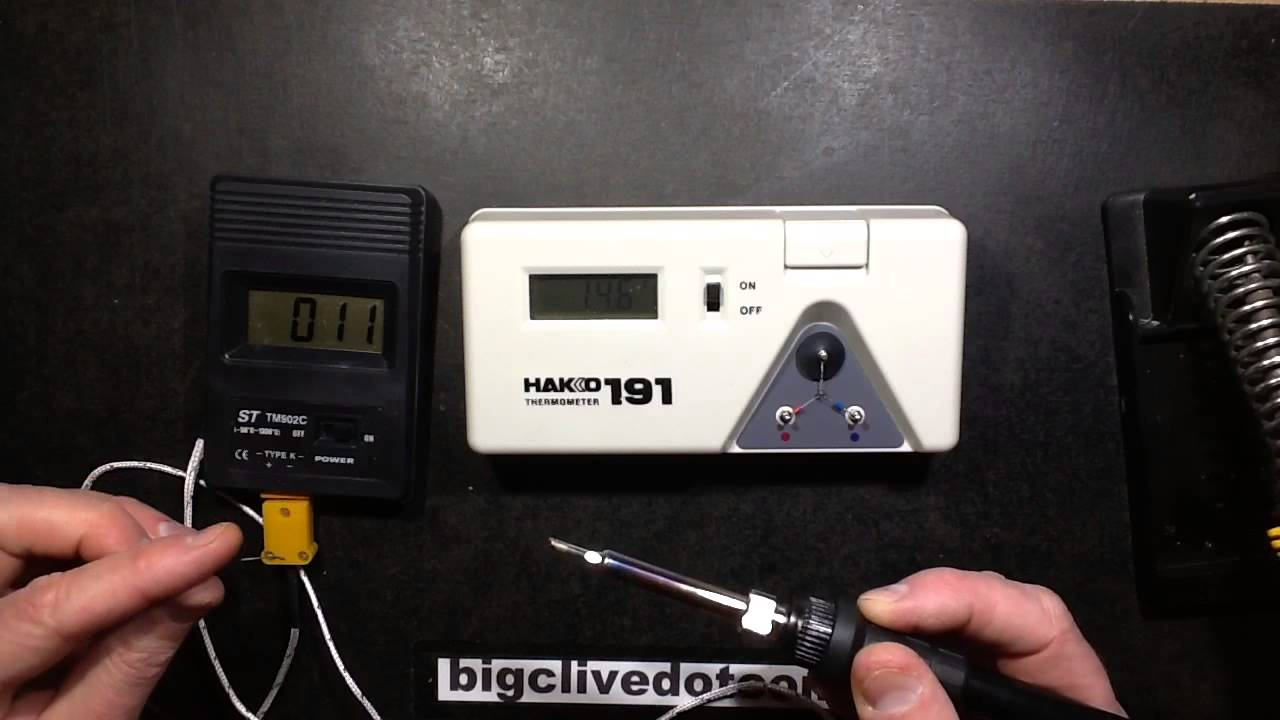 a look inside a hakko soldering iron tip temperature tester youtube. Black Bedroom Furniture Sets. Home Design Ideas