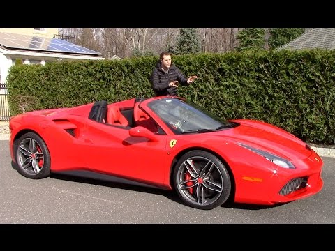 Here's Why the Ferrari 488 Spider Is Worth $350,000