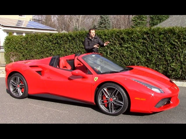 Heres Why the Ferrari 488 Spider Is Worth $350,000