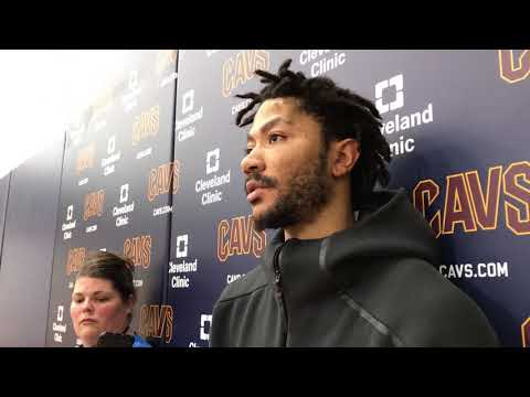 Derrick Rose on his first game since Nov. 7