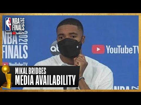 Mikal Bridges Game 1 Postgame Press Conference | #NBAFinals