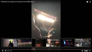 Las Vegas shooting analysis ground view: Right Side Window, target hit, flash, noise, echo analysis