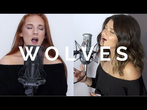 Wolves - Selena Gomez, Marshmello (Cover by Victoria Skie & Red) #SkieSessions