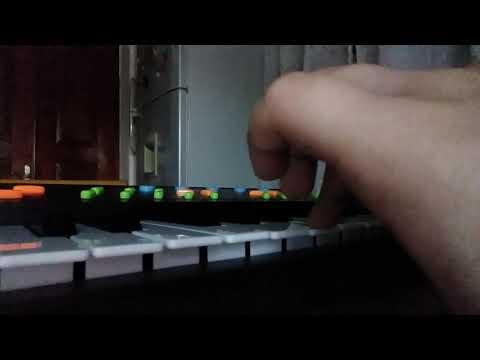 Украинская народная песня ой ты дивчина на пианино