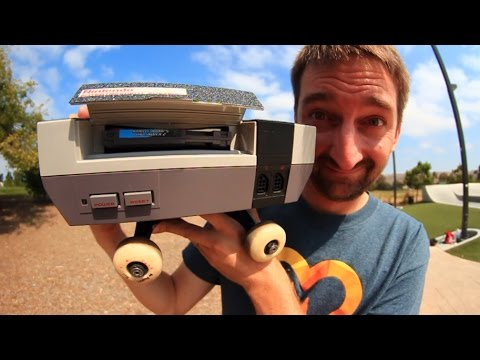 SKATING AN ORIGINAL NINTENDO CONSOLE! | SKATE EVERYTHING EP 42