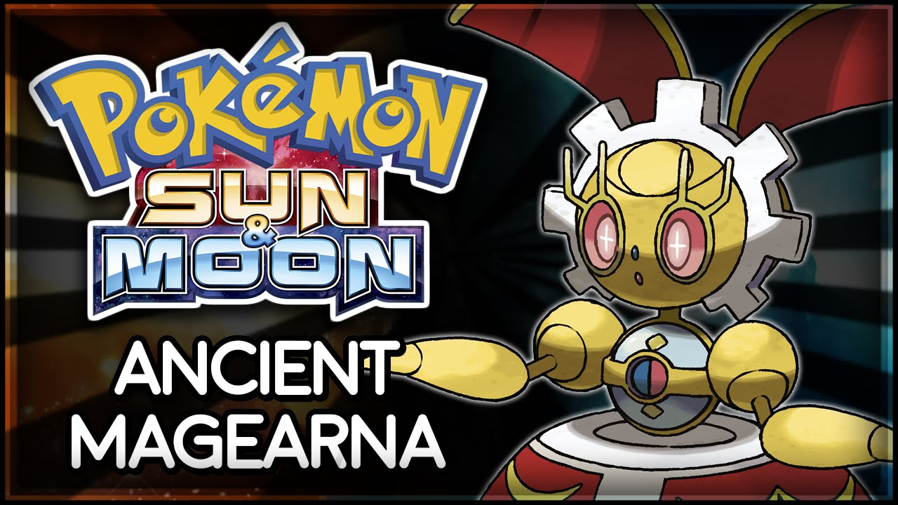 Pokémon Sun and Moon | Ancient Magearna - YouTube
