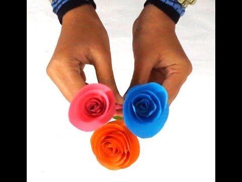 How to make small rose flower with paper making paper flowers how to make small rose flower with paper making paper flowers online creator mightylinksfo