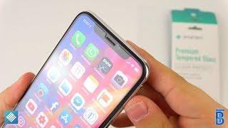 iPhone X Panzerglasfolien von smartect - touchbenny