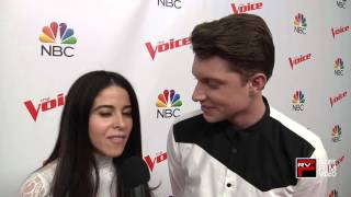 The Voice Daniel Passino glad to perform a Michael Jackson song