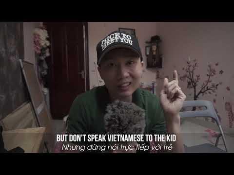 Cách Mình Dạy Annie 2 tuổi Song Ngữ -Tiếng Anh và Tiếng Việt