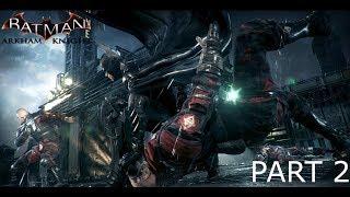 Batman: Arkham Knight Walkthrough Gameplay Part 2 - Ace Chemicals (Xbox One)