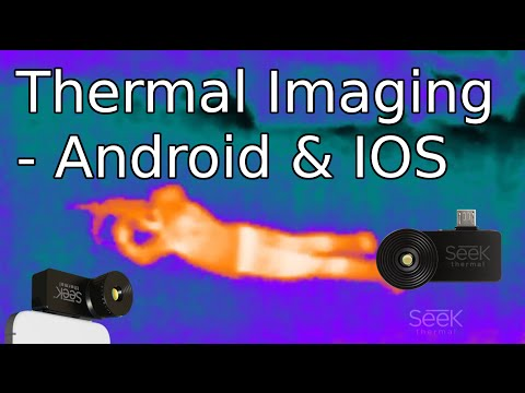 SEEK XR Thermal Camera for Smart Phones - See the Unseen [4K]