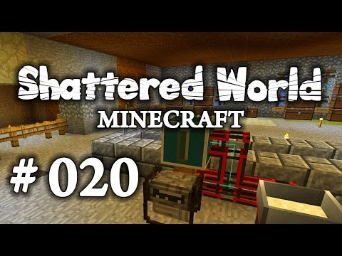 SHATTERED WORLD – Minecraft [#020] ► Nuggets, Disco & Alloy Smelter [PC] Let's Play Together