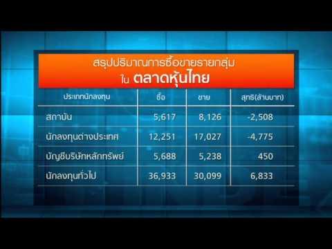 หุ้นไทยแดงยกแผงปิดตลาดร่วงกว่า 64 จุด