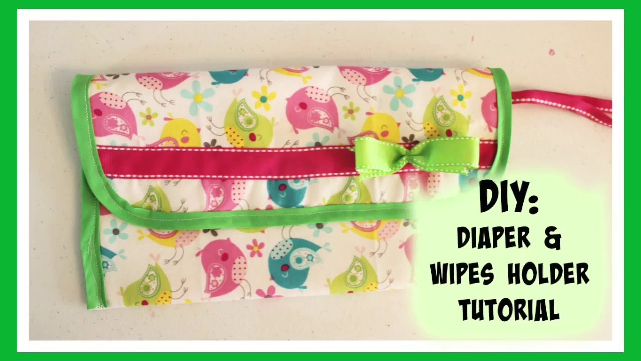 Diaper and wipes bag tutorial youtube baditri Images