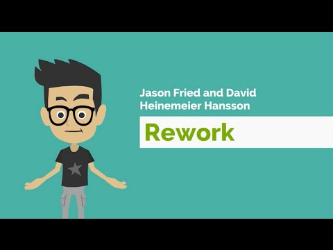 Rework by Jason Fried and David Heinemeier Hansson - Book Review