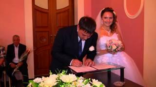 Бракосочетание, свадебный видео клип Full HD