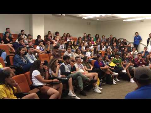 2016 Student Orientation - Summer Vacation Study Program in Boston