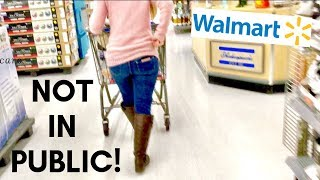 I Scare my Wife in Walmart!   Scare prank
