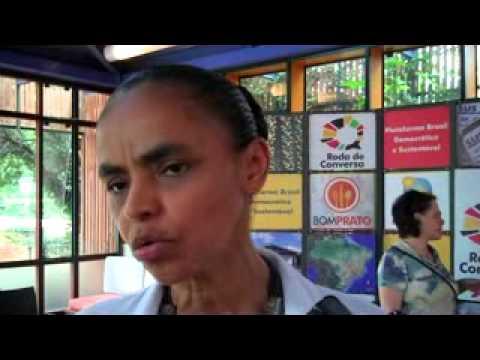 Entrevista coletiva de Marina Silva