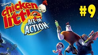 Chicken Little: Ace in Action - Walkthrough - Part 9 - I Smell a Rat (PC HD) [1080p60FPS]