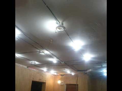 Потолки Грильято - комплектующие и внешний вид подвесного