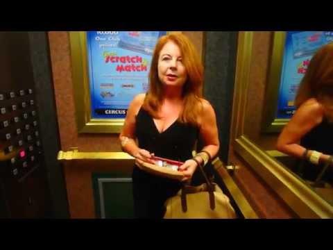 С Леной в Casino город Рино Невада - Снегурочка FloridaYalta  02.09.2015