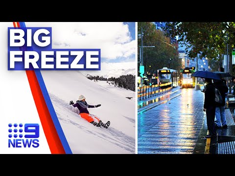Melbourne To Expect Severe Weather Tonight | Nine News Australia