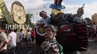 Philippines: Duterte labels protesters