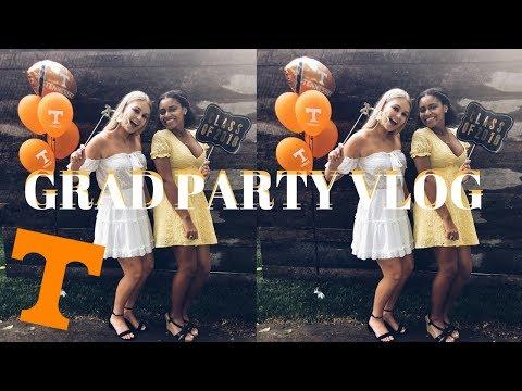 Grad Party Vlog