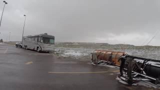 Laramie Wyoming Boondocking at Walmart