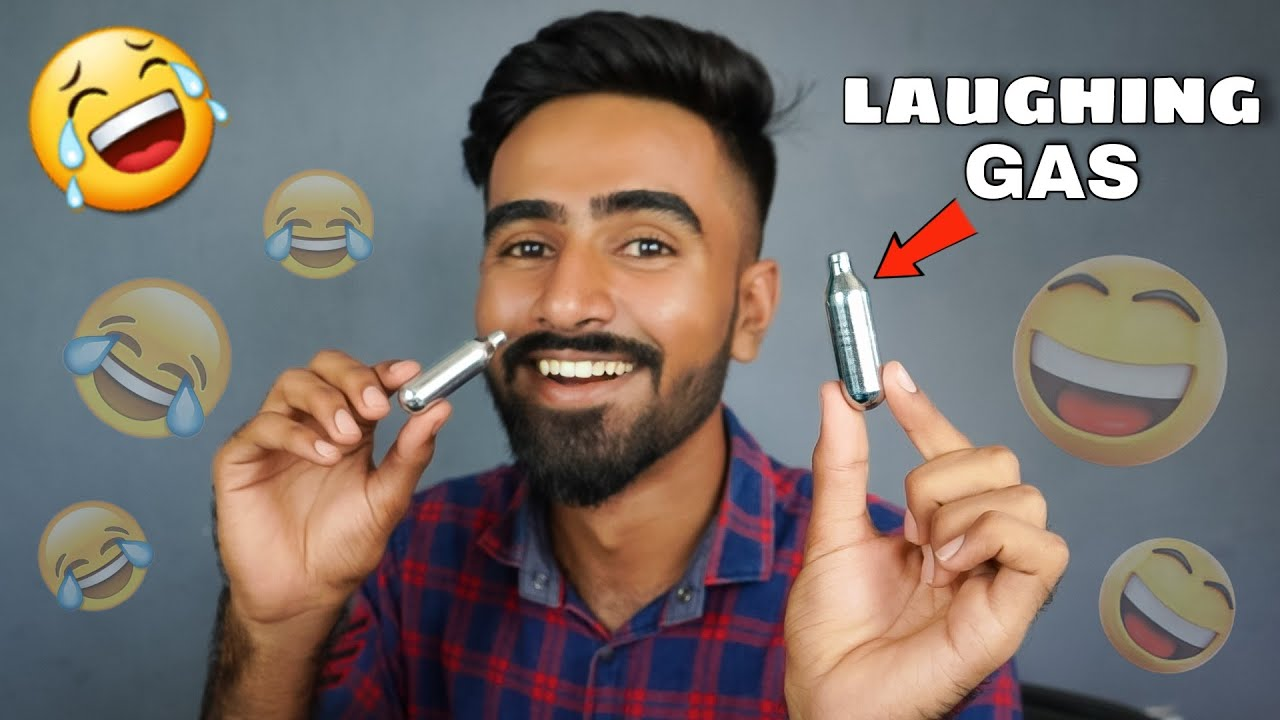 Trying Laughing Gas For First Time - हस हस के पागल हो जाओगे 🤣🤣